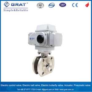 V-Notch Proportional Electric Ball Valve pictures & photos