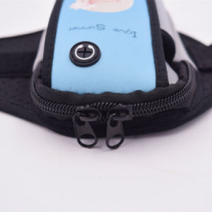 Neoprene Sport Armband with Pouch pictures & photos