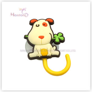 Wall Mounted Cartoon Cute Sucker Rubber Hook with Suction Cup pictures & photos