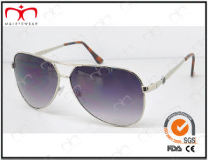 Fashionable Hot Selling UV400 Protection Metal Sunglasses (KM15013) pictures & photos