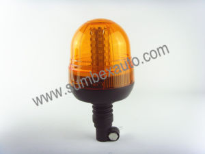 ECE R65 Flexible Pipe Mount Agriculture Rotating LED Beacon Light (SM809AB)