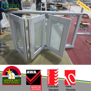 Fuzhou Ropo PVC Windows and Doors, PVC Folding Window pictures & photos