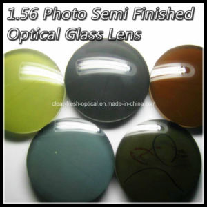 1.56 Photo Semi Finished Optical Glass Lens