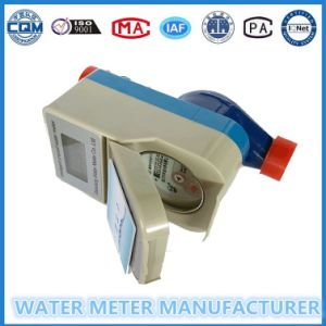 Prepaid Water Meter Digital Water Flow Meter Dn15-25 pictures & photos