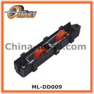 Sliding Aluminum Window Casters Double Roller in Plastic Bracket (ML-DD009) pictures & photos