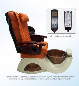 Nail Salon Orange Vending Massage Chair (C116-26) pictures & photos