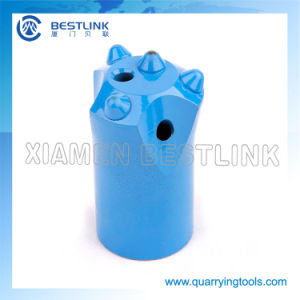 7 Degree 36mm Button Rock Drill Jack Hammer Bits pictures & photos