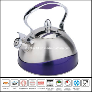 Half Color Stainless Steel Whistling Kettle Kitchenware pictures & photos
