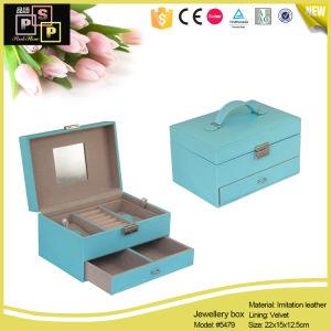 Jewelry Organizer Drawer Standing Mirror Jewelry Box (5479R1) pictures & photos