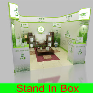 Fashionable High Quality Portable Aluminum Fabric Exhibition Booth pictures & photos