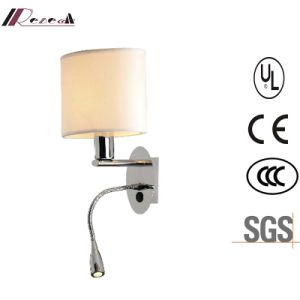 E27 LED Metal Fabric Wall Light Factory Price Wall Lamp for Hotel pictures & photos