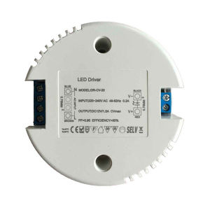 Round Triac Dimmable 20W LED Driver for LED Light pictures & photos