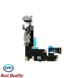 Original Port Dock Connector & Headphone Audio Flex Cable for iPhone6 Plus