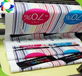 Suzhou Facotry Advertising High Quality Adhesive Poster Printing for Sale pictures & photos