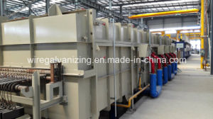 Singring Brand Steel Wire Gas Open Fire Austenitization Furnace pictures & photos