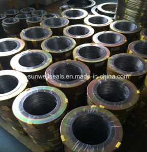 Spiral Wound Gasket for Flange Valve Jont Seal (SUNWELL) pictures & photos
