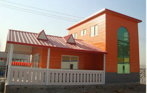 Movable Prefab Light Steel Structure House (KXD-61) pictures & photos