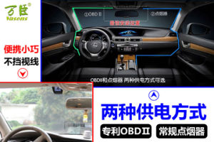 2016 OBD II Vehicle Front View Full HD Car Recorder pictures & photos