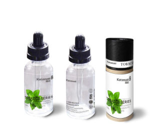 Competitive E Cigarette Liquids of Various Flavorings /Transparant Cylinder Package/Fruit, Menthol, Milky, Tobacco/High Vg pictures & photos