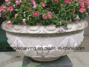 China Supplier Hand Carved Marble Planters for Sale pictures & photos