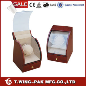 Wholesale Fashionable Wooden Watch Winder with Drawer
