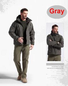 Outdoor Waterproof Windproof Hunting Coat Tactical Hoodie Jacket pictures & photos