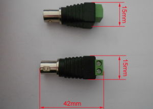 CCTV Female BNC Connector with Screw Terminal (CT121) pictures & photos