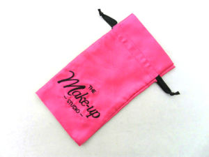 Custom Small Drawstring Satin Jewelry Pouch Bags pictures & photos