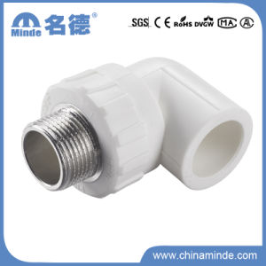 PPR Male Elbow Type a Fitting for Building Materials pictures & photos