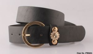 Black Simple Design Lady Belt pictures & photos