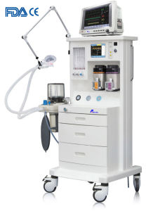 """Medical Surgical Supply 5.7"""" LCD Display ICU Anesthesia Machine (PAS-200E) pictures & photos"""