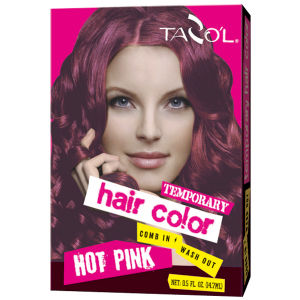 7g*2 House Use Temporary Hair Color with Pink Color pictures & photos