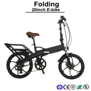 Light Weight Aluminum Foldable E-Bicycle Electric Bicycle E Bikes MTB Electric Bike (TDN08Z) pictures & photos