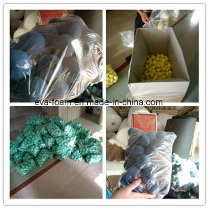 Sales Promotion Colorful High-Elastic 25 Degree EVA Foam Ball 5cm 6cm pictures & photos
