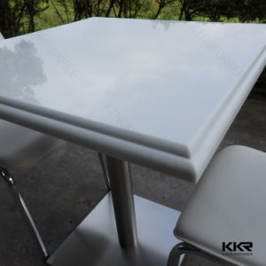 Colorful Solid Surface Restaurant Table for Food Count Furniture pictures & photos
