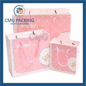 Pink Children Toys Packing Paper Bag (DM-GPBB-175) pictures & photos