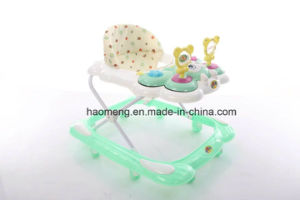 Cartoon Music Dashboard Baby Walker with Music pictures & photos
