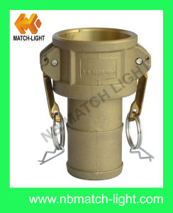 Plastic Coupler Type C with Grooved Hose Shank Camlock Coupling pictures & photos