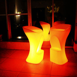 Outdoor Furniture Waterproof LED Bar Stool (H020) pictures & photos