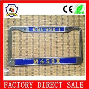 American Unique Blank License Plate Frames pictures & photos
