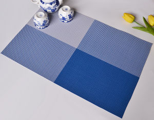 High Quality Soft Blue Matts Table Mat