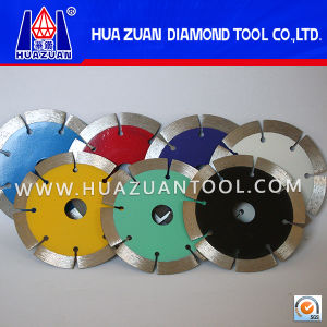"""Colorful 4.5"""" Sinter Small Dry Diamond Segment Cutter pictures & photos"""