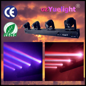 4 Head RGBW 4 in 1 LED Moving Head Sky Beam Bar Light pictures & photos