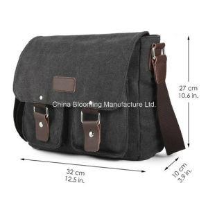 Canvas Document Laptop Computer Sling Crossbody Shoulder Messenger Bag pictures & photos