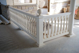 Polyurethane Balustrade Railing Vase Baluster Column Polished Home Use pictures & photos