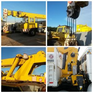 7-100ton Hydraulic Truck Mounted Crane pictures & photos