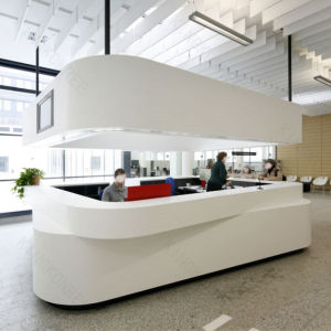 Artificial Stone Solid Surface for Reception Desk pictures & photos