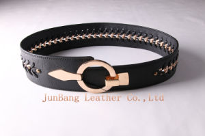 Wider Ladies Chain PU Belts pictures & photos