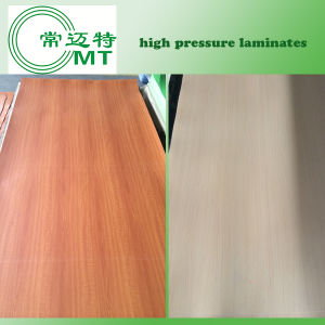 Formica Sheets/Wood Grain Laminate Kitchen Cabinets/Sunmica Laminates pictures & photos