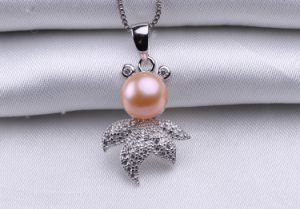 10-11mm Cute Bread Round Pearl Pendant AAA Freshwater Fashion Pearl Pendant pictures & photos